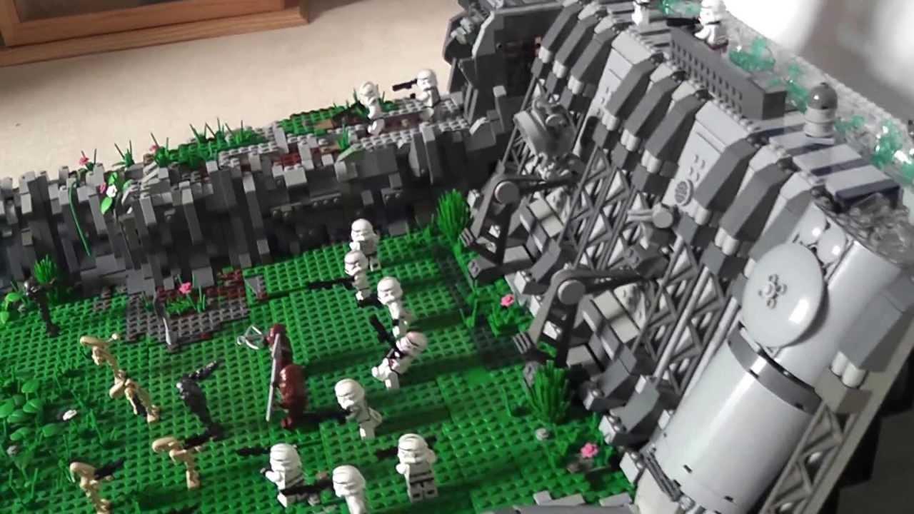 Star Wars Clone Base Lego Star Wars Clone Base on