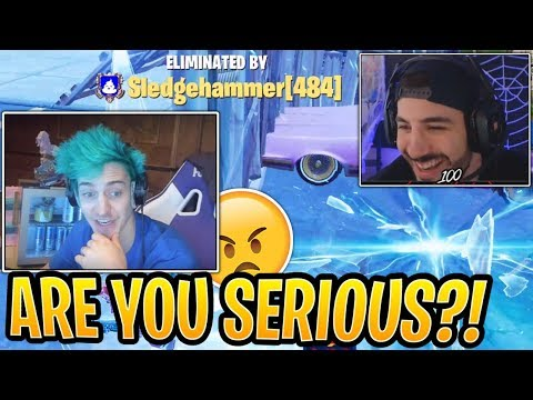 Ninja MAD at NICKMERCS for Bailing on Him! - Fortnite Best and Funny Moments