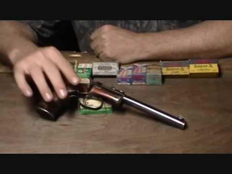 Stevens Model 35 Offhand Pistol, .22 Long Rifle
