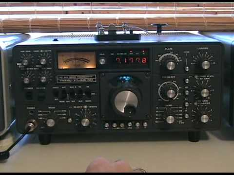 AMATEUR RADIO  YAESU FT-901DM TRANSCEIVER  NICE OLD RADIO  LONDON,ONTARIO NOV.2009.