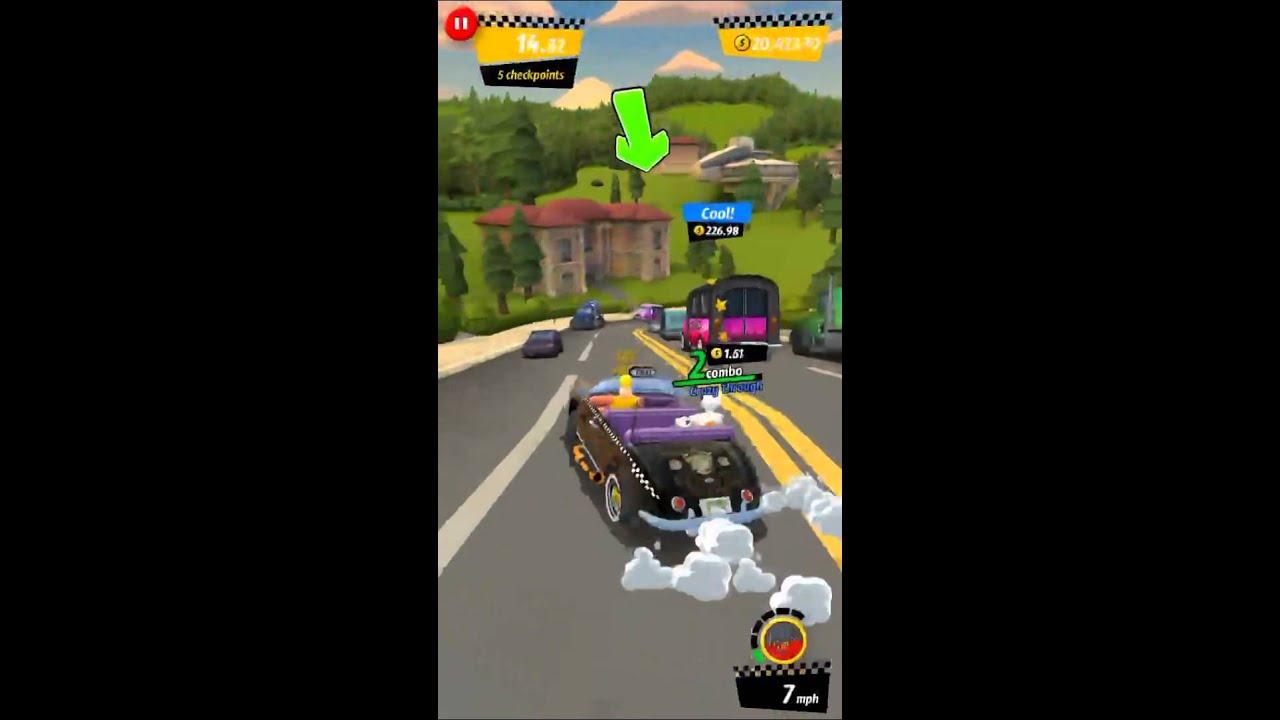 [Crazy Taxi: City Rush] Hulkamania