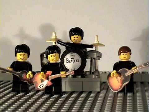 The Lego Beatles-happy Birthday