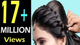 Beautiful Hairstyles for wedding/party || Wedding Guest hairstyles || Easy Hairstyles 2018