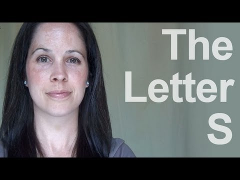 How to Pronounce the Letter S – American English