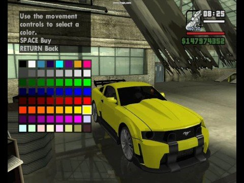 Gta Sa: 50 cent and cars Music Videos