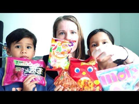 Anak anak kembar coba permen dari Jepang pertama kali thumbnail