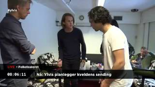 Ylvis Video - 24 hours with Ylvis 11. Hours 8:49 - 6:49.