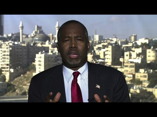 "Ben Carson: ""I think Jordan could take a lot more of the refugees"""