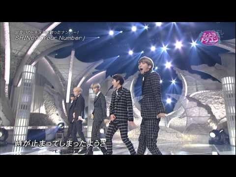 [150313] SHINee - Your Number @ NTV Music Dragon