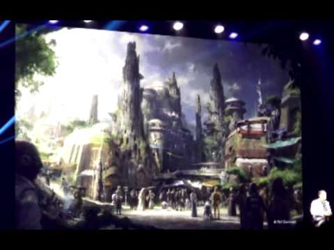 Star Wars Land And Star Wars Related Announcement Parks and Resort D23 Expo 2015