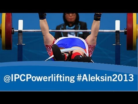 Powerlifting - men's -59kg - 2013 IPC Powerlifting European Open Championships Aleksin