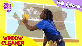 Let's Play: Window Cleaner | FULL EPISODE | ZeeKay Junior