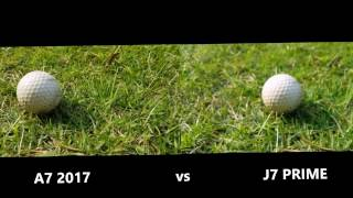 A7 2017 VS J7 PRIME CAMERA TEST REVIEW 2017