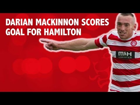 Darian MacKinnon scores goal for Hamilton