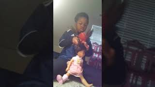 How to braid hair with a doll/person!
