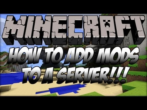 (1.6.2) How To Add Mods To A Minecraft Server FAST