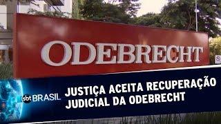 Justiça aceita recuperação judicial da Odebrecht | SBT Brasil (18/06/19)