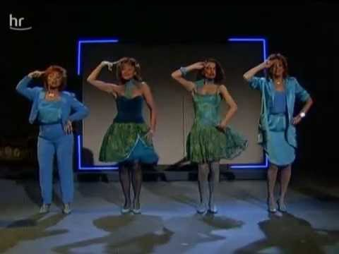 The Hornettes - Boogie Woogie Bugle Boy From Company B 1984