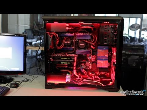 Rosewill Red Dawn 12-Core Dual GTX 680 EVGA Classified SR-X Custom Gaming System/Workstation