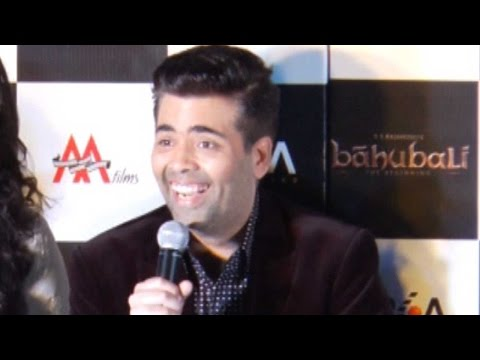Karan Johar's Funny Reaction To Baahubali Director S.S. Rajamouli