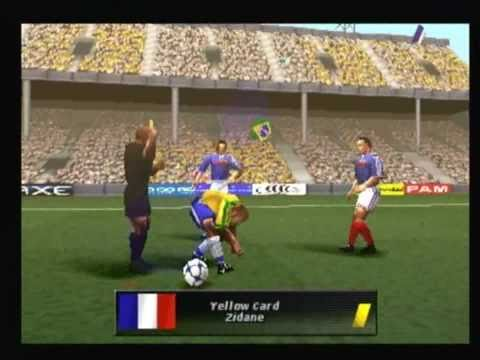 Ronaldo V-Football for the Sony Playstation