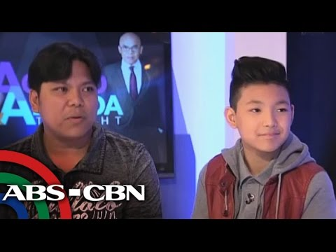 How Darren, dad sacrificed for 'The Voice Kids'