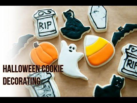 DIY Halloween Cookie Decorating - YouTube