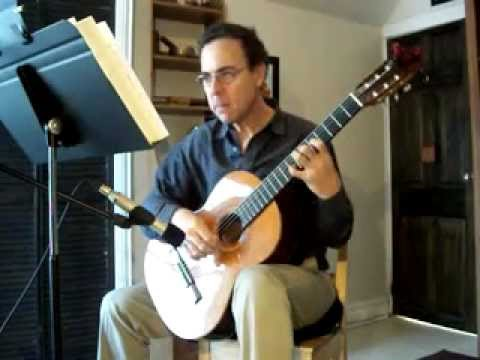 Folies D'Espagne by Francois de Fossa played by Martin de Zuviria on the guitar