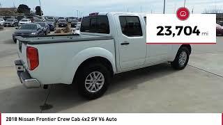 2018 Nissan Frontier San Angelo TX JN705895