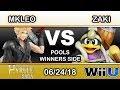 Hyrule Saga - Echo Fox MVG | MKLeo (Cloud) Vs. zaki (King Dedede) Pools - Smash 4 thumbnail