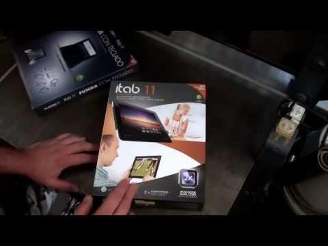 Unboxing del Itab 11 - Tableta Android