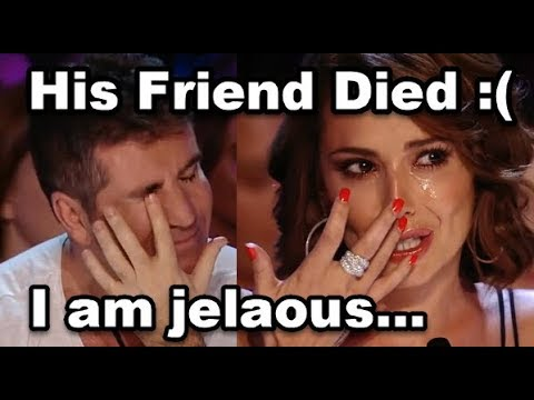 He Sings For His Dead Friend... Don't Cry... Simon Cowell Is Emotional And Cries | Jealous Labrinth