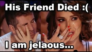 He Sings For His Dead Friend  Don 39 T Cry  Simon Cowell Is Emotional And Cries  Jealous Labrinth