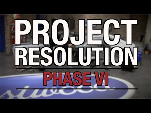 Mustang Project Resolution 2013: Phase 6 of 8 - Eastwood