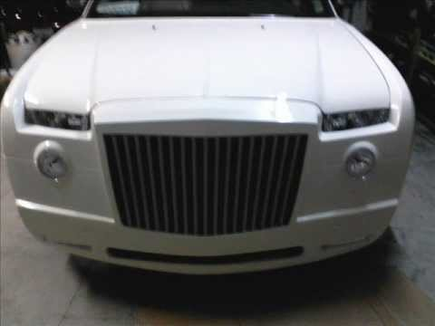Chrysler 300 bodykit with new grill