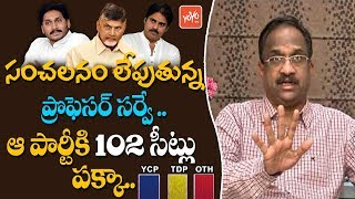 Prof Nageshwar About AP Elections Exit Poll Survey 2019   AP Election Results   Lagadapati   YOYO TV