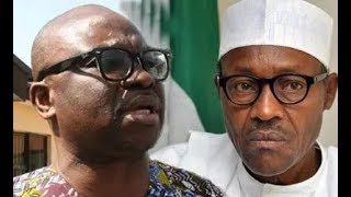 Download Buhari is seriously sick, must resign - Fayose reacts to Aisha's return to London 3Gp Mp4