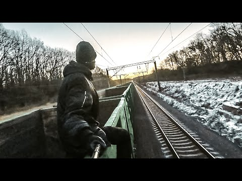 Train Surfing Journey To The Black Sea | Part 2