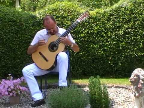Canco del Lladre - Miguel Llobet, performed by Michael Erni