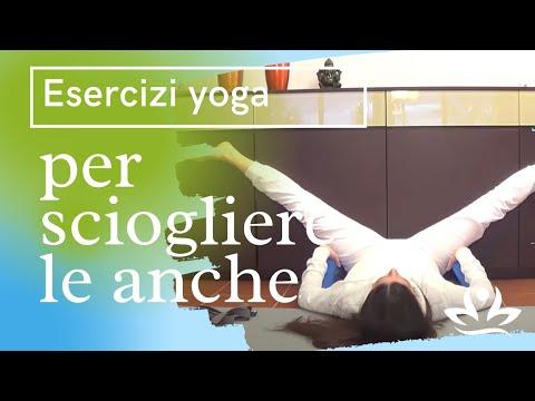 Esercizi yoga per sciogliere le anche