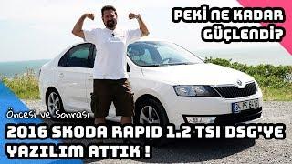 2016 Skoda Rapid 1.2 TSI DSG'Ye Yazılım Attık ! | Ne Kadar Güçlendi ? (English Subtitled)