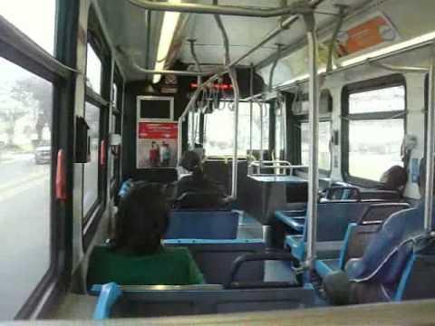 Cta Riding Aboard Bus 1143 On Rt 53a S Pulaski Youtube