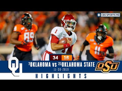 #7 Oklahoma vs #21 Oklahoma State Highlights: Kennedy Brooks leads Sooners past OSU | CBS Sports HQ