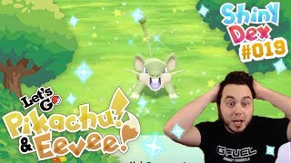 AGGRESSIVE SHINY RATTATA in POKÉMON LET'S GO PIKACHU AND EEVEE!