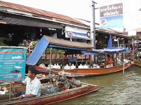 Amphawa Floating Market – Wat Bang Kung