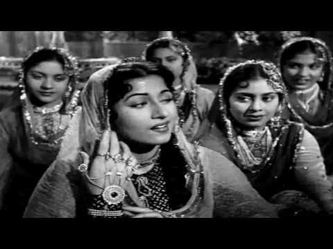 Teri Mehfil Mein Qismat - Mughal-e-Azam - (720p Full Wide Screen...