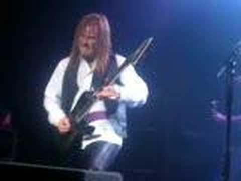 Glen Drover Tornado of Souls Megadeth in Dublin