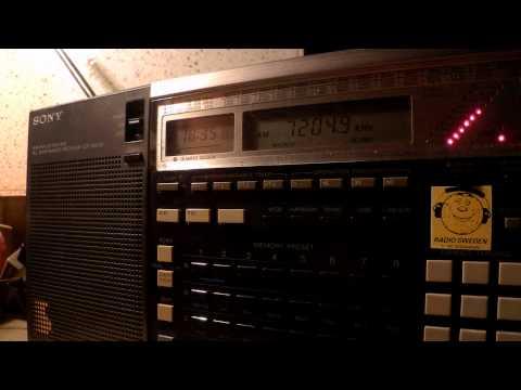 18 05 2015 Voice of Africa, Sudan Radio in Hausa to CeAf 1834 on new 7205 Al Aitahab, ex 9505