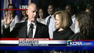 Brown Sworn In As California