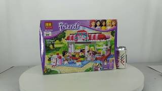 Mở hộp Bela 10162 Lego Friends 3061 City Park Cafe giá sốc rẻ nhất